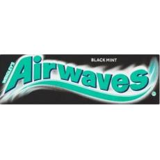 Airwaves žvýkačky Black Mint 30x14g