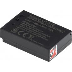Baterie T6 power Canon LP-E12, 650mAh, 4,7Wh, černá