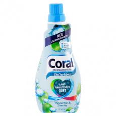 Coral prací gel na barevné prádlo Leknín a Limetka 22PD 1,1l