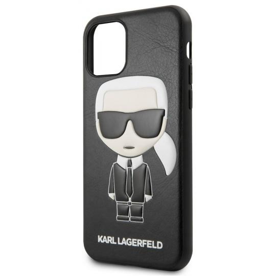 Karl Lagerfeld Embossed Case iPhone 11 Pro, Black