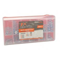 249 šroubů a matic v krabičce FX