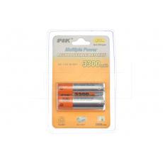 Nabíjecí baterie PIK 2ks - 1,2V Ni-MH AA 3300mAh