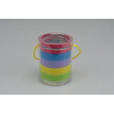 Set 30ks gumiček do vlasů (průměr 5cm) - Mix barev
