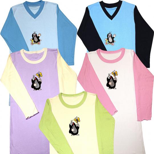 KR 008 dětská noční košile dlouhý rukáv