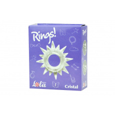 Kroužek na penis (1.4cm) - Cristal, čirý