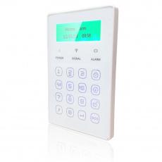 iGET SECURITY P13 - externí bezdrátová klávesnice s LCD displejem pro alarm M3B a M2B
