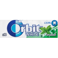 Wrigley's Orbit White Spearmint žvýkačky 30x14g