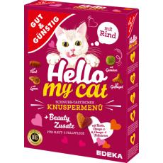 GG Hello my Cat Křupavé hovězí menu 1000g