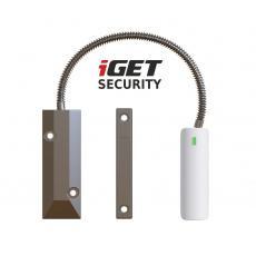 iGET SECURITY EP21 - senzor na železné dveře/okna/vrata pro alarm M5, výdrž baterie až 5 let