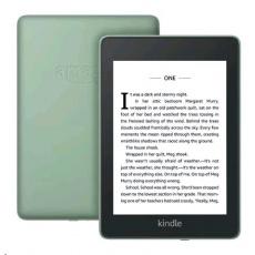 E-book AMAZON KINDLE PAPERWHITE 4 2018, 6'' 8GB E-ink displej, WIFi, SAGE, SPONZOROVANÁ VERZE