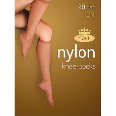 podkolenky NYLON knee-socks 20 DEN / 2 páry