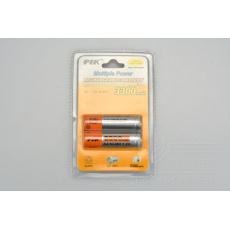 Nabíjecí baterie PIK 2ks - 1,2V AA 3300mAh