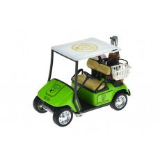 Golfové vozítko na setrvačník (10 x 7 cm) zenelé