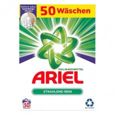 Ariel německý prací prášek na bílé a světlé prádlo 50PD 3,25kg