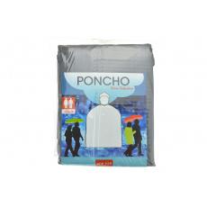 Poncho do deště - Šedé