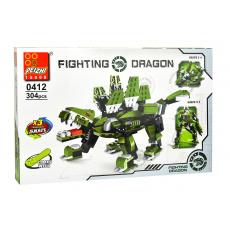 Stavebnice 0412, 304 dílků - Fighting Dragon