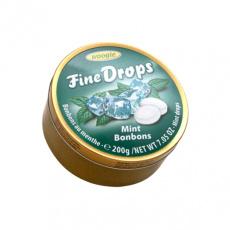 Fine Drops Mentol Bonbony 200g