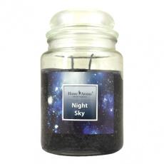 Svíčka vonná dekorativní NIGHT SKY, 540g