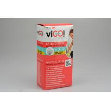 Jednorázové latexové rukavice VIGO 100ks bílé - Velikost S