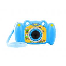 Digitální fotoaparát pro děti Ugo Froggy, modrý, 1,3mpx, video Full HD 1080px, 2'' LCD displej