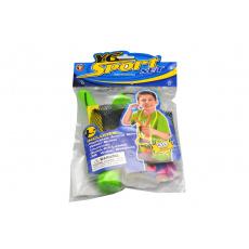 Vodní bomby s prakem - 36 balónků - Zelený