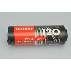Silné pytle na odpad QDOMA 10ks 120l (70x110cm)