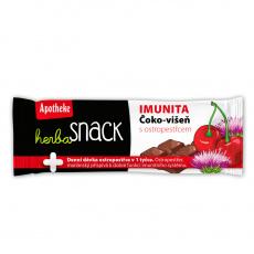 Apotheke Herba Snack IMUNITA čoko-višeň 55g