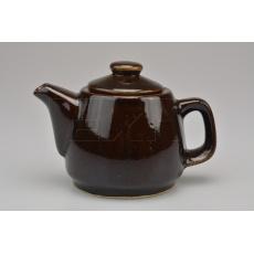 Keramická čajová konvička (0.3L) - Hnědá