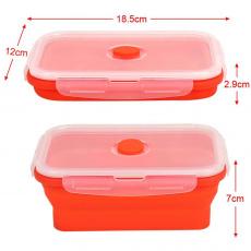 Box Fresh skládací dóza na potraviny 0,8l