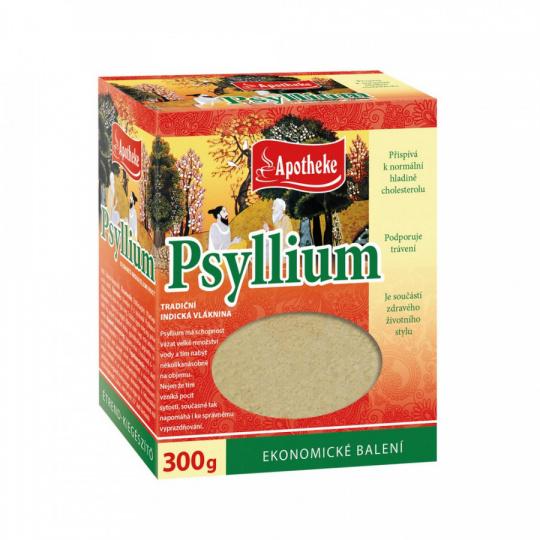 Apotheke Psyllium 300g krabička