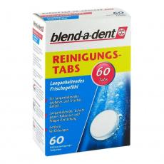 Blend-a-dent čistící tablety na zubní protézy 60ks