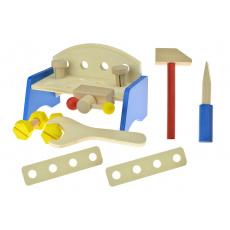 Work Table - dřevěný ponk pro rozvíjení motoriky dětí