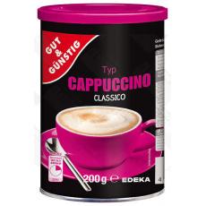 GG Sladké Cappuccino instatní nápoj 200g