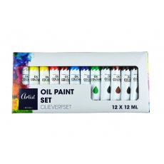 Sada akvarelových barev 12 x 12 ml