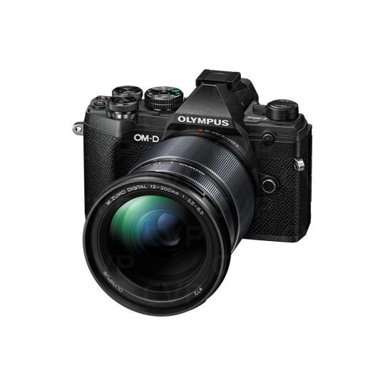 Olympus E-M5 Mark III 12-200 Kit blk/blk