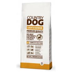 COUNTRY DOG Light & Senior 15kg 5+1 ZDARMA