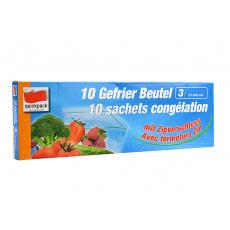 Zipové sáčky na potraviny 3l (27x28cm) 10ks