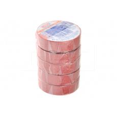 Elektrikářská páska 0.15x15mm / 5m - Červená 1 ks