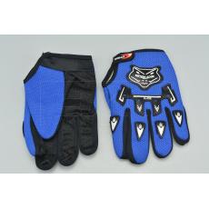 Rukavice na kolo A-02 vel.M/L - Modré