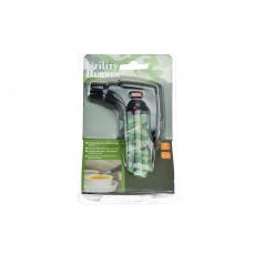 Multifunkční plynový zapalovač s turboplamenem, zelený