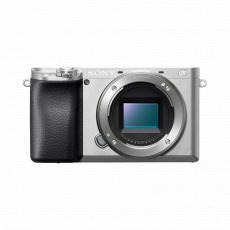 Sony A6100L ILCE, 24,2Mpix/4K, stříbrný 16-50mm