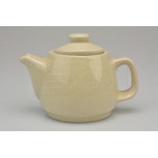 Keramická čajová konvička (0.3L) - Okrově žlutá