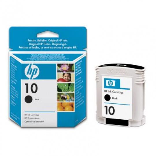 HP no. 10 - černá ink. kazeta velká, C4844A