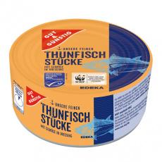 GG Tuňákové kousky v zeleninovém dresingu 185g