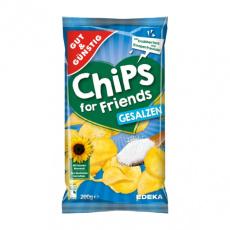 GG Chipsy jemně solené 200g