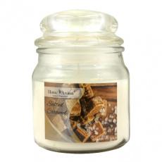 Svíčka vonná dekorativní SALTED CARAMEL, 200g