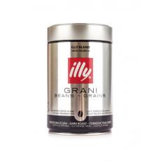 Illy Espresso Dark zrnková káva dóza 250 g