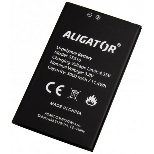 ALIGATOR S5510 baterie 3.000mAh Li-Ion