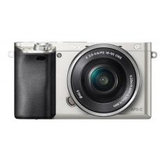 Sony A6000L, 16-50mm, 24,3Mpix, stíbrný