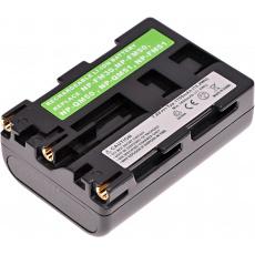 Baterie T6 power Sony NP-FM50, NP-FM51, NP-FM30, NP-QM50, NP-QM51, 1700mAh, 12,2Wh